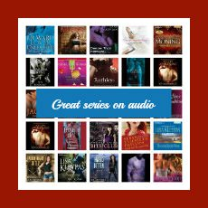 A group of small audiobook images - Great series on audio 230x230